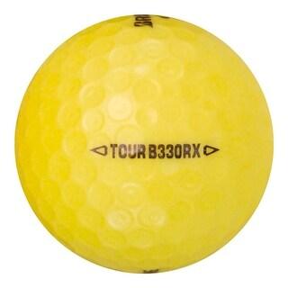 1 Bridgestone Tour B330-RX Yellow - Value (AAA) Grade - Recycled (Used) Golf Balls