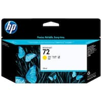 HP 72 130-ml Yellow DesignJet Ink Cartridge (C9373A) (Single Pack)