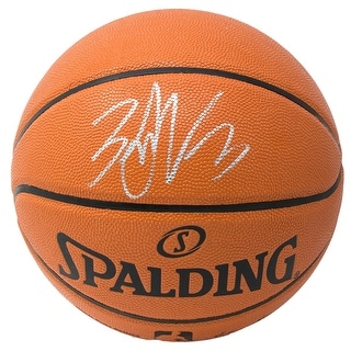 Zach LaVine Chicago Bulls Signed Indoor Outdoor Spalding Basketball Fanatics