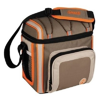 Coleman 9 Can Soft Cooler Outdoor With Liner Tan 3000002170