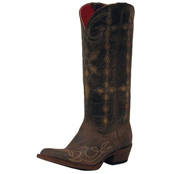 Macie Bean Western Boots Womens Yard Sally Cowboy Bone Mad Dog