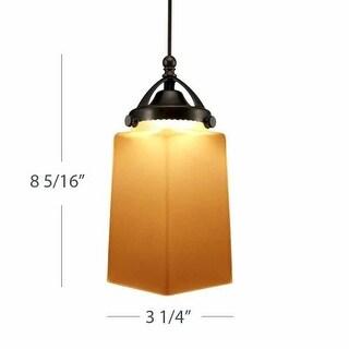 WAC Lighting G498 Huntington Amber Glass Shade Only
