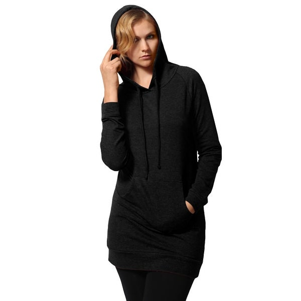 NE PEOPLE Women's Long Sleeve Tunic Sweatshirt Drawstring Hoodie with Pocket (NEWT314)