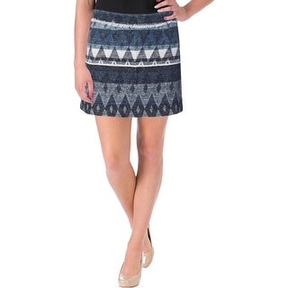 Sam Edelman Womens Tribal Fringe Mini Skirt