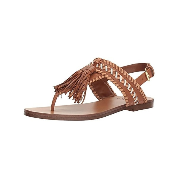 Vince Camuto Womens Rebeka Flat Sandals Thong Tassel