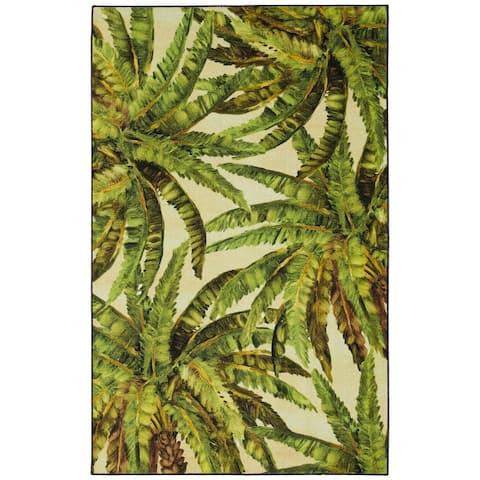 Mohawk Home Tropical Verde Palm Area Rug