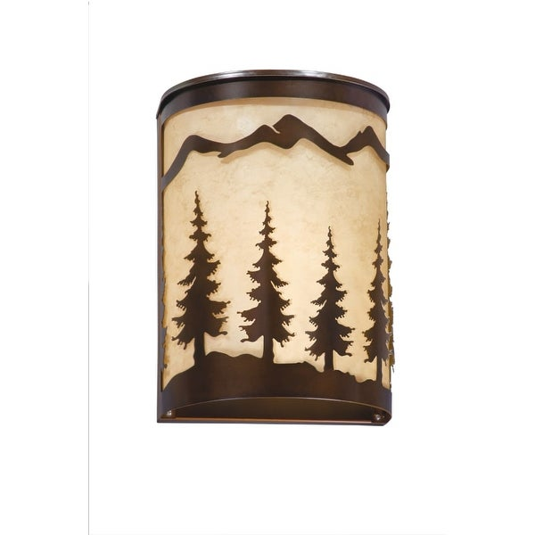 Vaxcel Lighting W0047 Yosemite 1 Light Wall Sconce