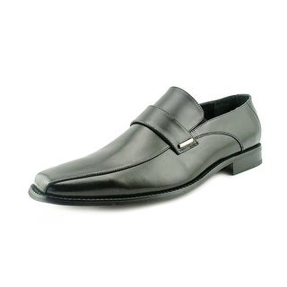 Stacy Adams Darby Men Square Toe Leather Black Loafer