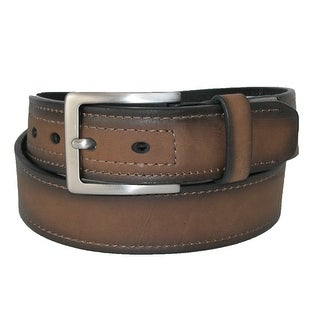 Dickies Men's Reinforced Leather Industrial Strength 1 1/2 Inch Belt