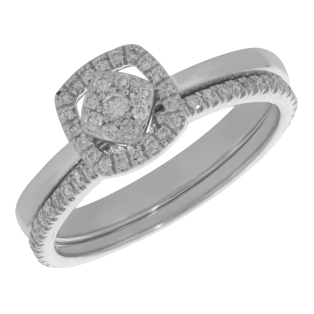 Diamond Wedding Band in 10K Yellow Gold G-H,I2-I3 Size-8.25 1//10 cttw,