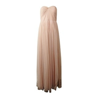 Adrianna Papell Women's Strapless Tulle Convertible Gown