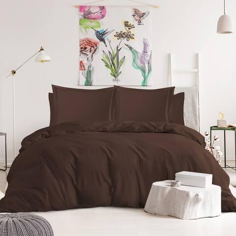 Nestl Bedding 1000TC Cotton Blend 6-Piece Duvet Cover and Sheet Set