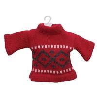 Red Mini Sweater Ornament