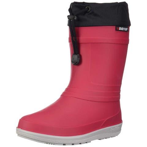 Kids Baffin Boys Little Hunter - 30 PLN C Rubber Mid-Calf Lace Up Rain Boots