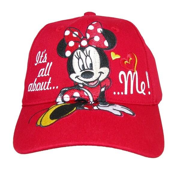 24b5345af5832d Shop Disney Girls' It's All About Me Minnie Mouse Baseball Cap ...