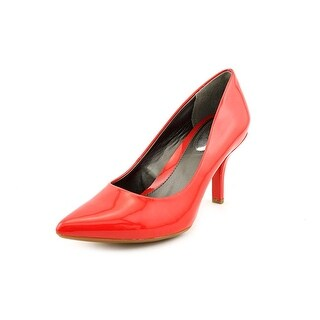 Alfani Jacee Women Pointed Toe Synthetic Red Heels