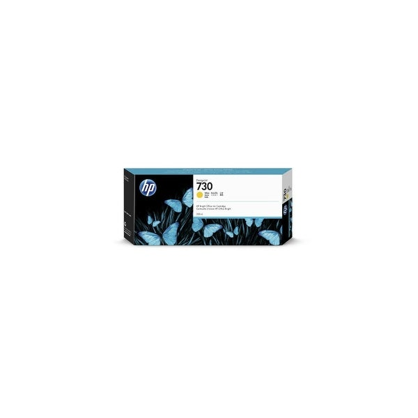 HP 730 300-ml Yellow Ink Cartridge (Single Pack) Ink Cartridge