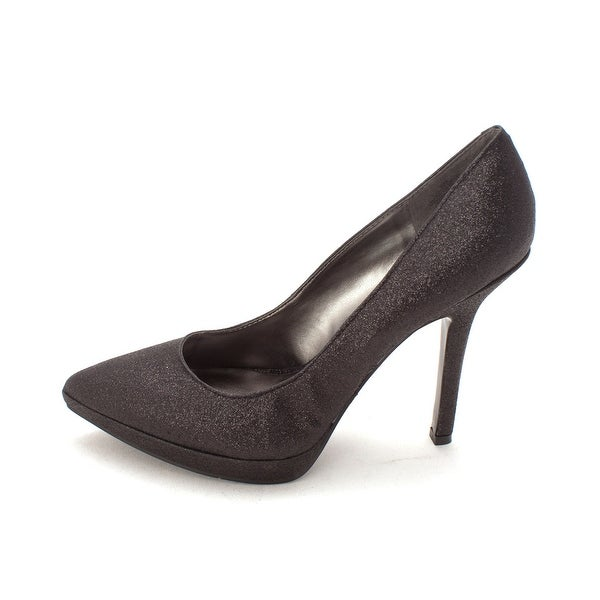 Nine West Womens lovefuryo Pointed Toe Classic Pumps, Black sy, Size 8.0