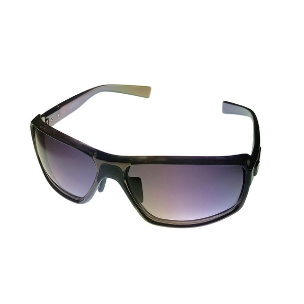 3c68804d15ff Shop Kenneth Cole Reaction Mens Plastic Sunglass Black / Solid Smoke Lens  KC1224 1A - Medium - Free Shipping On Orders Over $45 - Overstock - 13827436