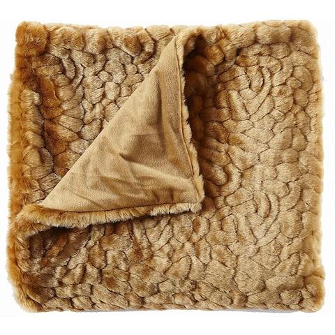 Faux Fur Throw Blankets, Gothic Decor, Fuzzy Blanket, Soft Blanket, Throw Blanket for Couch, Plush Blanket, Fur Blanket, Fluffy