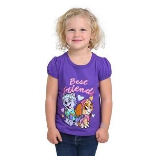 Best Friends Paw Patrol Toddler Girls T-Shirt - 2T