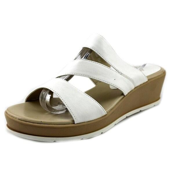 Kim Rogers Frienda Women Open Toe Synthetic Wedge Sandal