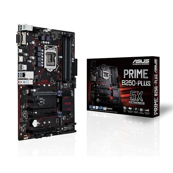 Asus Prime B250-Plus Lga1151 Ddr4 Hdmi Dvi Vga M.2 B250 Atx Motherboard With Usb 3.1