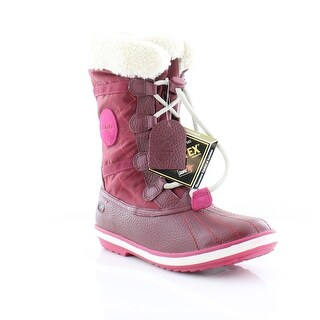 Clarks Fabyou GTX Jnr Girls Boots Berry (3 options available)