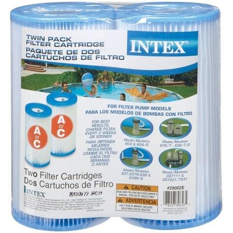 Intex 29002E Twin Pack Filter Cartridge