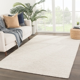 Link to Fifer Handmade Trellis Ivory/ Grey Area Rug Similar Items in Transitional Rugs