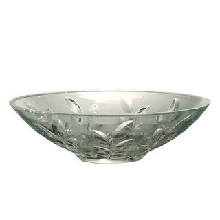 "Dale Tiffany GA60827 4.5"" Leaf Vine Bowl with 24 Percent Lead Hand Cut Crystal - Clear - n/a"