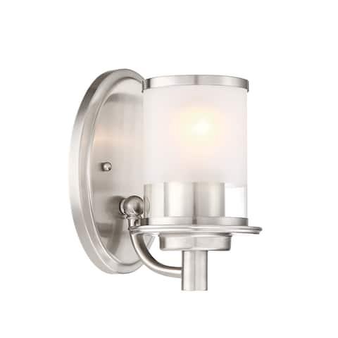 "Designers Fountain 6691 Essence Single Light 5"" Wide Bathroom Sconce"