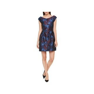 Tommy Hilfiger Womens Party Dress Floral Special Occasion