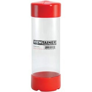 """Red - Viewtainer Storage Container 2.75""""X8"""""""