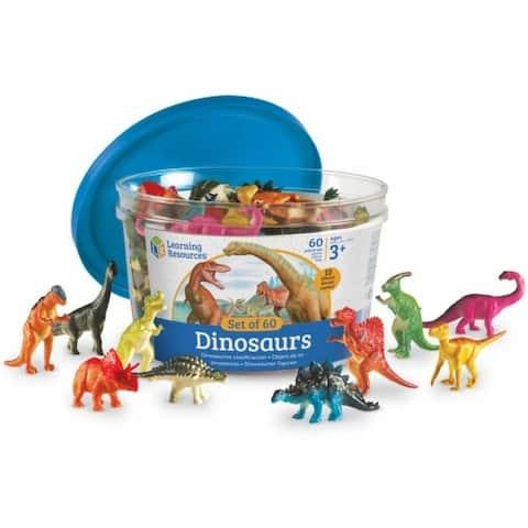 Dinosaur Counters Set (Set of 60)