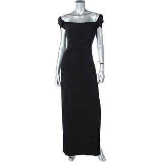 Lauren Ralph Lauren Womens Side Slit Prom Evening Dress - 10