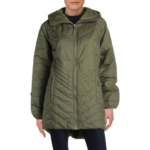 The North Face Womens Parka Coat Reversible Hooded - L