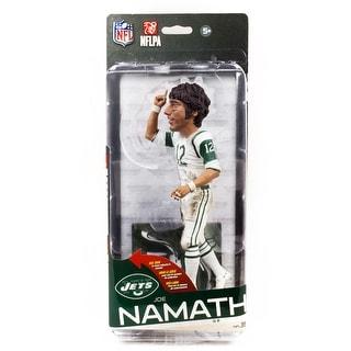 NFL Series 35 McFarlane Action Figure New York Jets Joe Namath Bronze Variant
