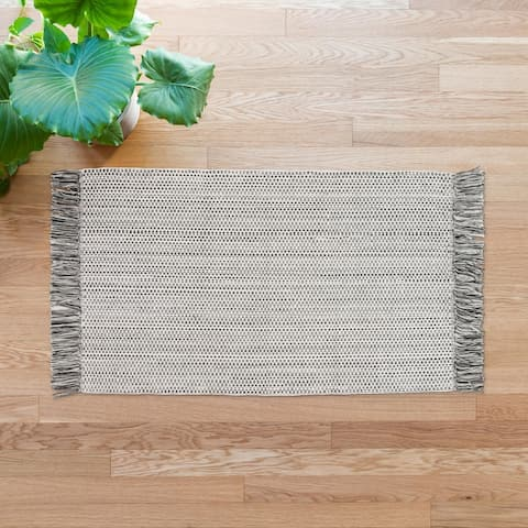 Alexander Home Rebecca Farmhouse Hand-Woven Area Rug