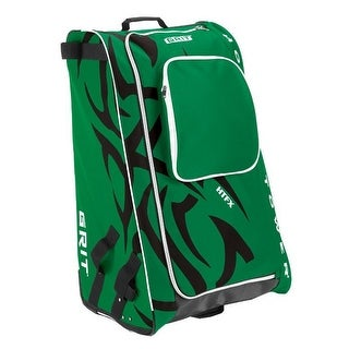 "Grit Inc HTFX Hockey Tower 33"" Wheeled Equipment Bag Green HTFX033-DA (Dallas) - 33''h x 20''w x 17''d"