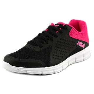 Fila Aspect Energized Women Round Toe Synthetic Black Running Shoe