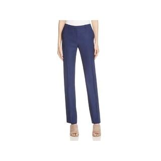 Theory Womens Hartsdale Trouser Pants Wool Single Pleat