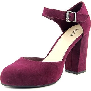 Bar III Ritzy Women Round Toe Synthetic Purple Mary Janes