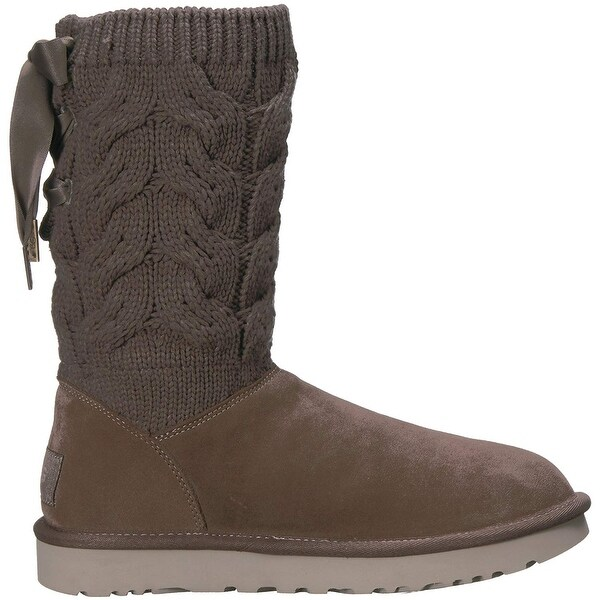 Ugg Womens Kiandra Closed Toe Ankle Cold Weather Boots