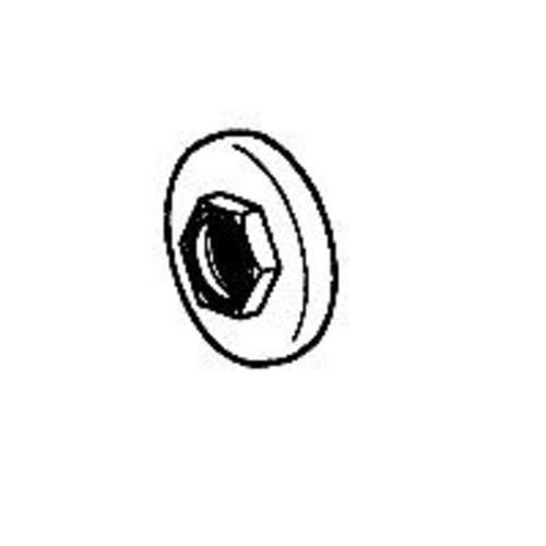 Danco 64654B Shower Door Rollers, 3/4