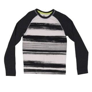 Epic Threads Boys' Brushstroke Raglan Knit Tee - M