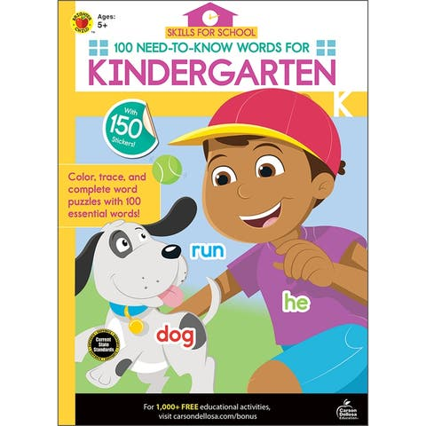 Brighter child (6 ea) 100 need-to-know words 705316bn