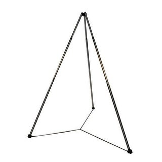 Hammaka Lightweight Telescopic Tripod Stand for Net Chair - Black