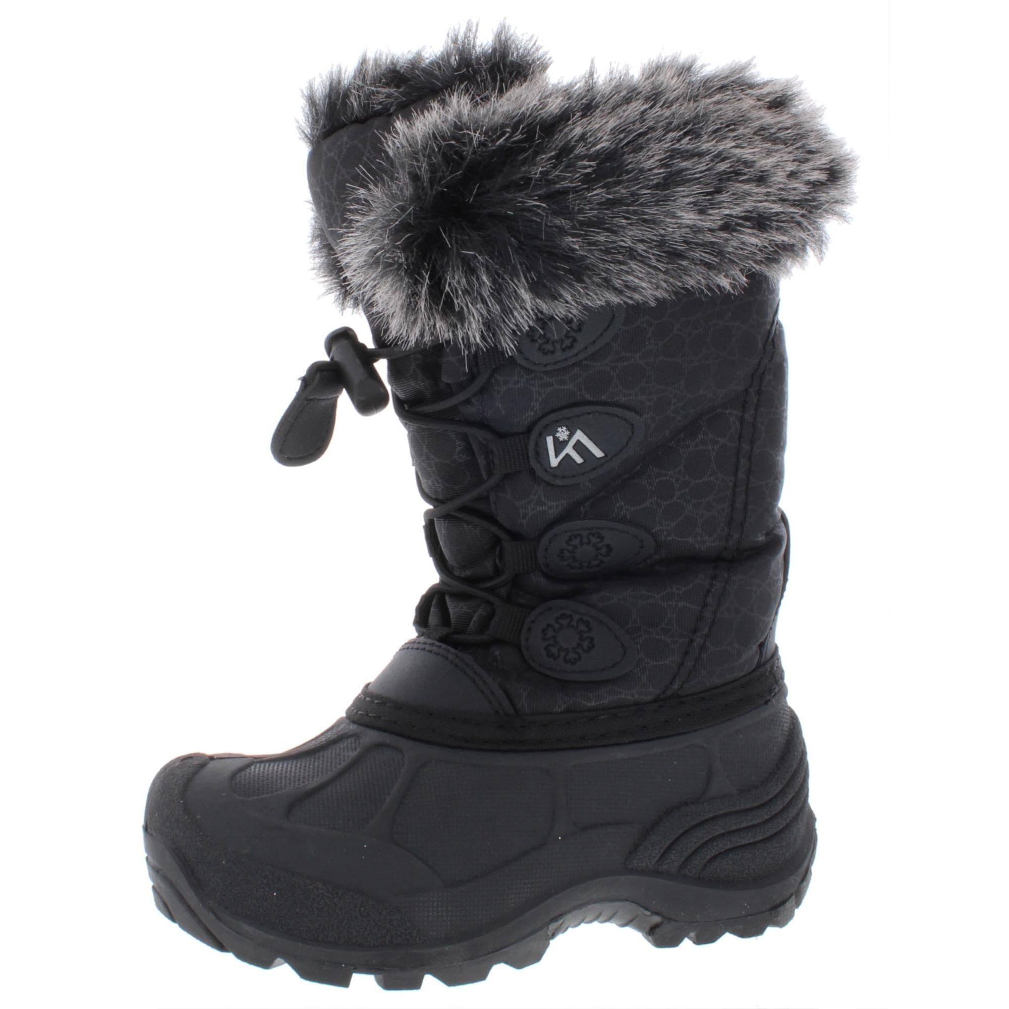 girls snow boots size 11