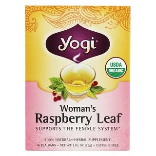 Yogi Tea Woman's Raspberry Leaf (16 Bags)